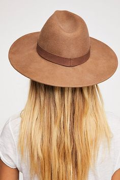 Beaumont Suede Band Felt Hat. I get so many compliments on this!