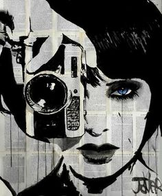 "Saatchi Art Artist Loui Jover; Drawing, ""click"" #art"