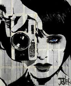 "Saatchi Art Artist Loui Jover; Drawing, ""click"" #art"