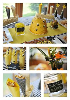 """Love the idea of """"What Will it Bee?"""" - it's the cutest way to sweeten the anticipation surrounding the big day!"""