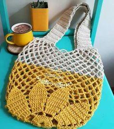 Marvelous Crochet A Shell Stitch Purse Bag Ideas. Wonderful Crochet A Shell Stitch Purse Bag Ideas. Crochet Market Bag, Crochet Handbags, Crochet Clutch, Crochet Purses, Crochet Bags, Crochet Shell Stitch, Crochet Stitches, Knit Crochet, Crochet Designs