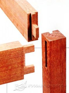 Strong Tenons in Skinny Legs - Joinery Tips, Jigs and Techniques | WoodArchivist.com