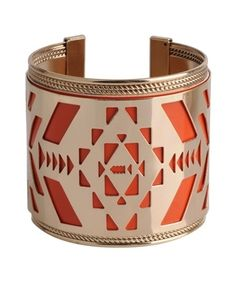 Tribal Cuff Bracelet - New Arrivals - Accessories - 1000026937 - Forever21 - StyleSays