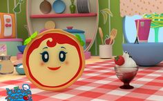 Cartoni animati per bambini: La cucina per bambini, Margherita la piccola cuoca Cartone per i bambini su cibo! Il primo cooking show italiano condotto da… Una pizza! Volete diventare dei piccoli chef? Margherita è una vera cuoca e vi saprà insegnare delle ricette per bambini fac