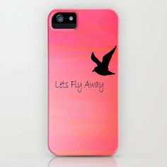 Lets Fly Away iPhone Case by Veronica Ventress - $35.00
