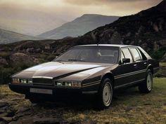 1976-1990 ASTON MARTIN LAGONDA V8 - designed by William Towns