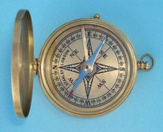 Maritime Compasses Antiques Knowledgeable Brass Nautical Decor Working Compass And Leather Case Perfect Traveler Gift Camp