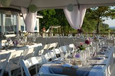 Mission Point Outdoor Wedding-7.16.10 Wedding by Designed Sealed and Delivered #designedsealedanddelivered