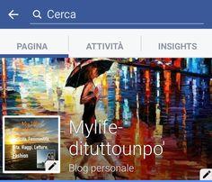 MyLife! Di tutto un po' : Aiutatemi a far conoscere la pagina Facebook di qu...