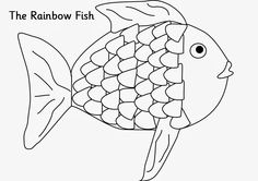 Best 25+ Rainbow fish template ideas on Pinterest
