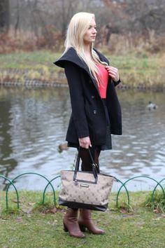 Aleksandra Ścigaj: RED & BLACK LOOK