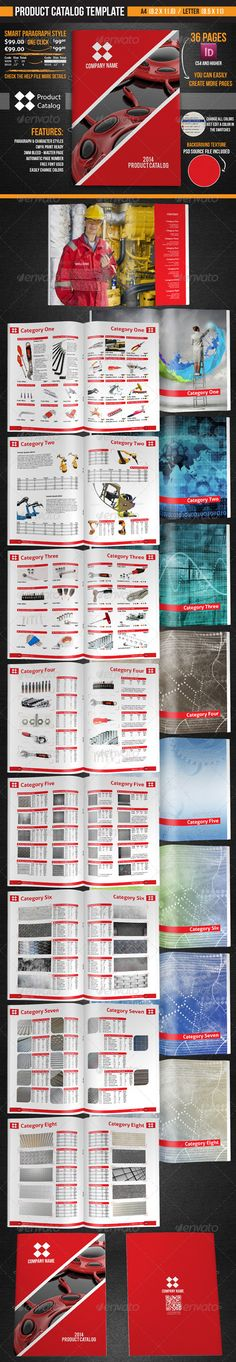 15% Regular License     Product Catalog Template - Catalogs Brochures