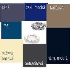 Farby - Neutrálne farby pre chladný typ