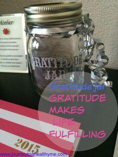 Gratitude jar-Gratitude makes life fulfilling