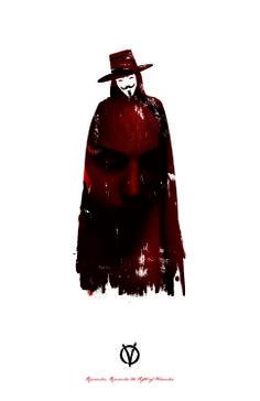 V for Vendetta minimalist #vforvendetta