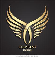 Car Logo Design, Logo Desing, Tattoo Lettering Fonts, Typography Logo, Lion With Wings, Tribal Wings, Joker Iphone Wallpaper, Restaurant Logo, Dental Logo