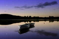 New Morning by KENNY BARKER  A beautiful and calm autumn sunrise on the gorgeous Loch Rusky. Scotland has so many amazing scenes like this. :-)