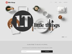 Little Things - WordPress Shop Theme by Theme Bullet on @creativemarket