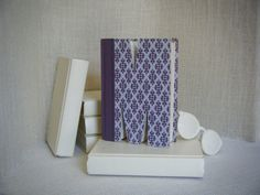 M  Book Art prop for pretty planks set - Place in front of the bed