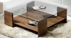 contemporary glass coffee table DUBAI ARTURO ESCUDERO
