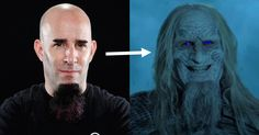 ANTHRAX's Scott Ian Gets Turned Into A Whitewalker From Game Of Thrones - Metal Injection