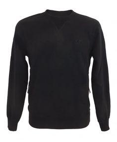 CP Company Sweatshirt With Kangaroo Pocket In Black Kangaroo, Pocket, Sweatshirts, Sweaters, Black, Fashion, Baby Bjorn, Moda, Sweater