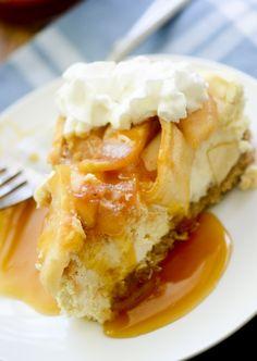 caramel apple cheesecake 023