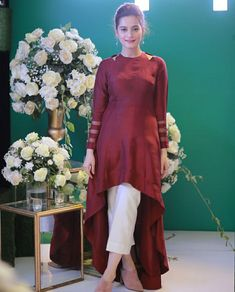 Dresses Designer dresses indian Stylish dresses Fashion dresses Pakistani dresses Pakistani outfits - Beautiful Aiman Khan & Iqra Aziz at Oppo Event - Pakistani Fashion Party Wear, Pakistani Dresses Casual, Indian Fashion Dresses, Indian Gowns Dresses, Dress Indian Style, Pakistani Dress Design, Indian Designer Outfits, Pakistani Clothing, Abaya Style