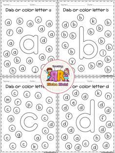 Preschool Learning Activities, Free Preschool, Preschool Printables, Alphabet Activities, Preschool Worksheets, Preschool Activities, Teaching Kids, Kids Learning, Teaching Spanish