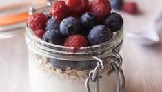 Desayunos y meriendas: los grandes olvidados. Raspberry, Fruit, Food, Bread Recipes, Oat Muffins, Afternoon Snacks, Homemade Breads, Healthy Breakfasts, Loosing Weight