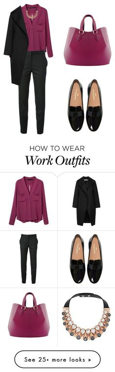 """winter at the office"" by tania-alves on Polyvore featuring moda, STELLA McCARTNEY, Swarovski, Aevha London y Marni"