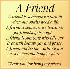 Daveswordsofwisdom.com: What is a friend.