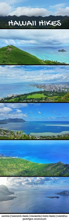 Best Oahu hikes: For US hiking trails in Hawaii, there are tons of hikes on Oahu to choose during Hawaii vacation on the island!Doing the best hiking trails on Oahu also gives you other things to do with nearby beaches for swimming, snorkeling, and to see turtles! List of planning tips for when inWaikiki or Honolulu and take the bus or with a rental car to other trails.Outdoor travel destinations for the bucket list for budget adventures! Put outfits and hiking gear on the packing list!