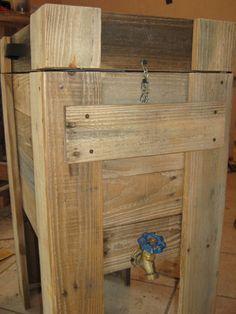 Pallet Wood Cooler #Pallet