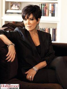Kris Jenner Addresses Kim Kardashian's Divorce With Fellow EP Ryan Seacrest - kurzhaarfrisuren Chris Jenner Haircut, Chris Kardashian, Kardashian Jenner, Kardashian Family, Kardashian Style, Short Hair Cuts For Women, Short Hair Styles, Pixie Styles, Mom Hairstyles