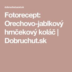Fotorecept: Orechovo-jablkový hrnčekový koláč | Dobruchut.sk