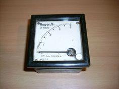 Alte Anzeige Messuhr Bogen/h x 1000  DDR ab 1 EUR