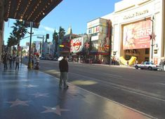 A #tourist visiting #LosAngeles can't help but read the stars on the world-famous #Hollywood Walk of Fame located on both sides of  Hollywood Boulevard and Vine Street.