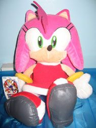 "Sega ""Sonic the Hedgehog"" Amy Rose plush"