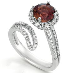 Topaz and Diamond Ring - Vanna K