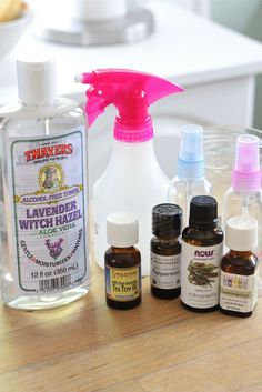 Homemade Mosquito Repellent  These are the oils I use and it's awesome!  And on a hot day, the peppermint cools you off while your working outside!