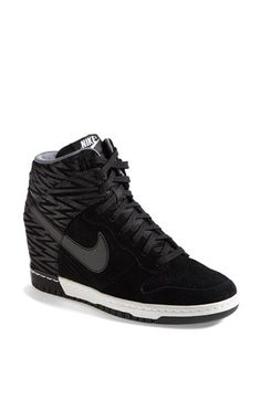 Nike 'Dunk Sky Hi' Wedge Sneaker (Women) available at #Nordstrom // 9.5