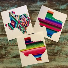fcc8d2fb0 Texas Pattern Vinyl | Yeti Decal Sticker | Car Decal | Lily Serape Mexican  Blanket