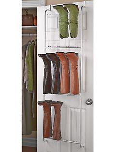 Superior Over The Door Boot Organizer   Boot Hanger   Shoe Holder | Solutions