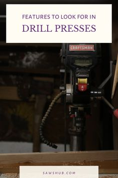 Find the best cheap drill press for the money with our tool review. When DIY woodworking, use this precision tool for accurate hole drilling. #sawshub #drillpress #DIYwoodworking #homeproject Pallet Furniture Plans, Diy Furniture, Homemade Tables, Build Your Own House, Drill Press, Woodworking Projects Diy, Diy Home Improvement, Working Area, Wood Pallets