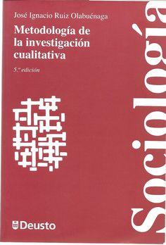 Ruiz. Metodología de la investigación cualitativa., 5a.ed. 2Ej.