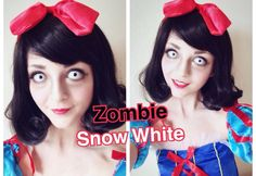 Zombie Snow White Halloween Makeup Tutorial