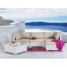 4 Sitzer Lounge Set Ana Aus Rattan Mit Polster Jetzt Bestellen Unter:  Https://moebel.ladendirekt.de/garten/gartenmoebel/loungemoebel Garten/?uidu003d35cc8dff   ...