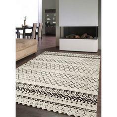 unamourdetapis tapis dinspiration berber morocco tribal en polypropylne par tapis moderne beige pas cher achat vente tapis rueducommerce - Tapis Pas Cher
