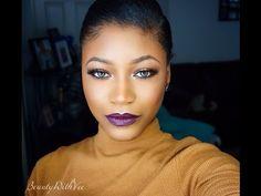 Vampy Makeup Look - Morphe 35O | Beauty With Vee ♥
